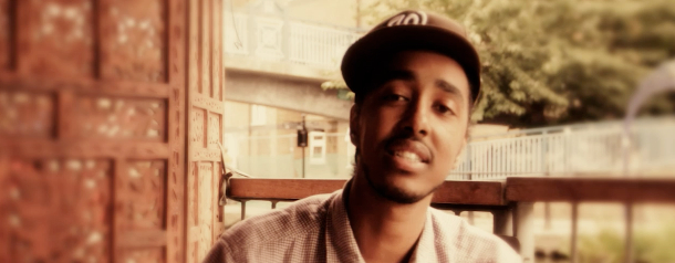 An impromptu freestyle by Diamond District's Oddisee