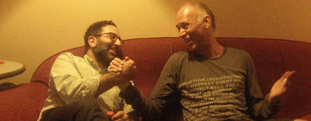 duo-interview with Aril Brikha & Jack de Marseille while jack in the Box 25 years @ Rex Club