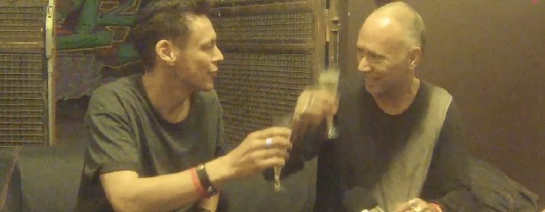 duo-interview with Luke Slater & Jack de Marseille while Jack in the Box 25 years @ Cabaret Aléatoire