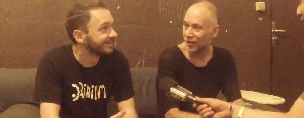 duo-interview with Milton Bradley & Jack de Marseille while jack in the Box 25 years @ Cabaret Aléatoire