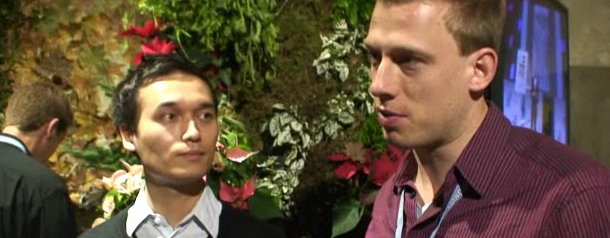 Le Web 09 - Interview with Victor Henning and Jan Reichelt of Mendeley - the Last.fm for research