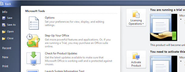 Office 2010 (technical preview): les nouveautés... !