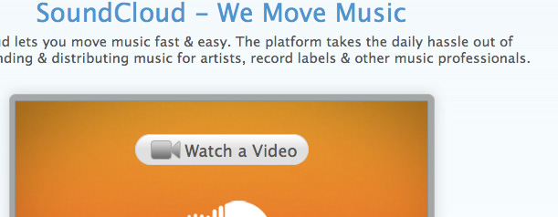 Test Vidéo : Sound Cloud, le flickr du son !